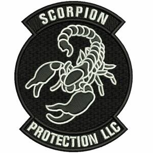 Scorpion Protection Armed Security Uniform Patch in South Florida